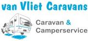 Caravan stalling van Vliet logo