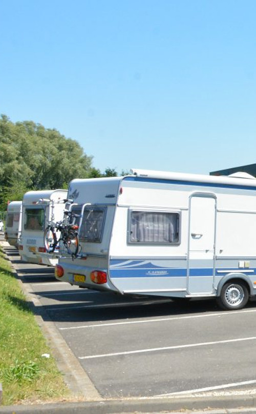 Foto van Caravan Stalling van Vliet