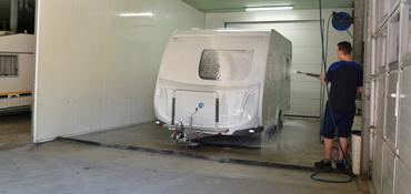 Was dienst van Caravan Stalling van Vliet